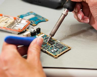 Portable two way radio repairs